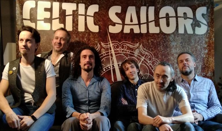 Groupe de musique celtic sailors